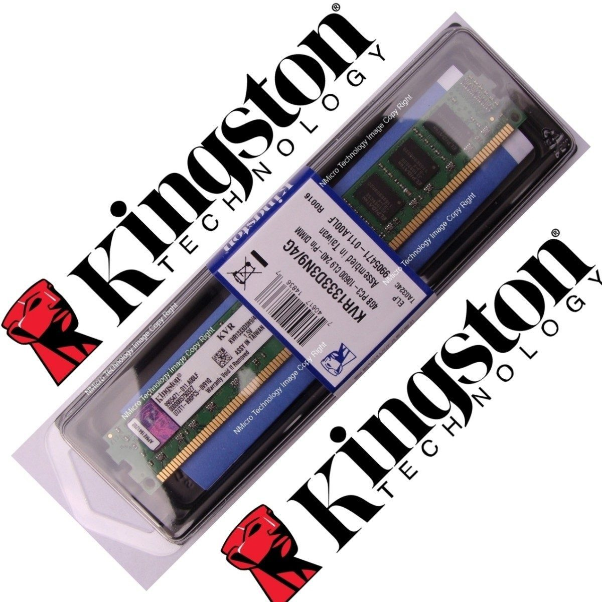 memoria ram ddr3-1333 4gb pc 1600 pc3l 10600 nuevo kingston so-dimm 4096mb