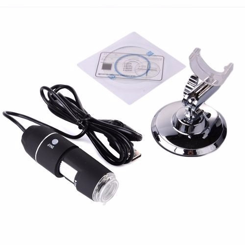 Microscopio Digital Usb 1000x Zoom Optico Hd 8 Leds