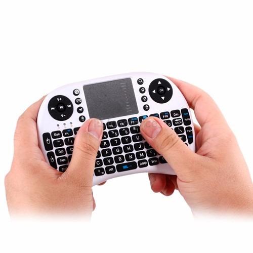 Mini Teclado Inalámbrico Bluetooth Con Touch Pad Para Tvbox