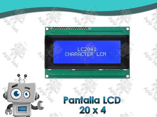 Pantalla Lcd 20x4 Arduino