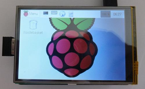 Pantalla Lcd Tft 3.5pulgadas Táctil Para Raspberry Pi