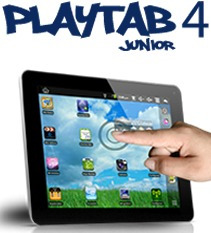 Playtab 4 Play Vidrio Touch Digitalizador Original Cristal