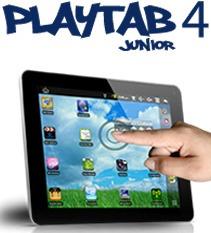 Playtab 4 Play Vidrio Touch Digitalizador Original Cristal
