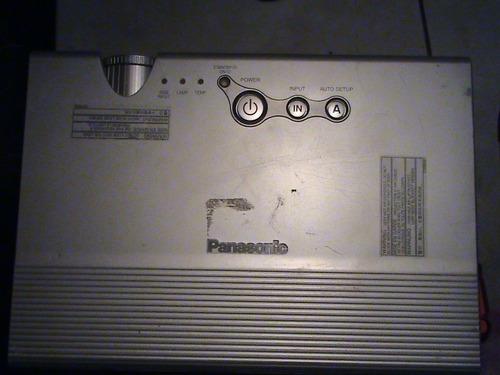 Proyector Panasonic Modelo Pt-lb 10 Para Refacciones