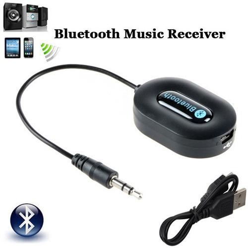 Receptor Bluetooth Para Audio Adaptador Plug-in El Mejor