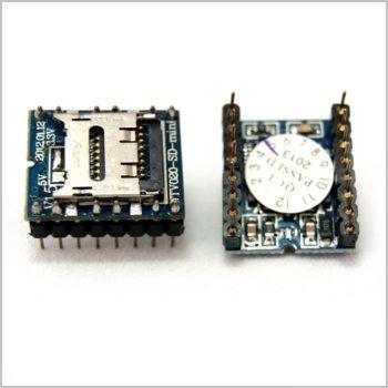 Reproductor De Audio Minisd Wtv020sd (arduino, Avr, Pic)