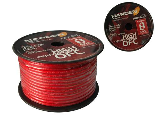 Rollo De Cable Calibre 8 Para Fuente, Uso Rudo. 50m
