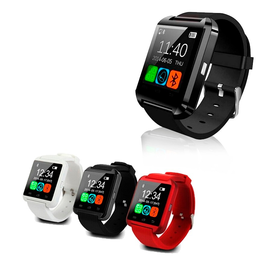 iphone compatible smartwatch smartwatch u8 compatible con iphone y android bluetooth 11763