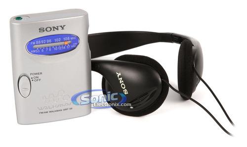 Sony Walman Radio Analogico Srf-59 Am/fm Audifonos Blister