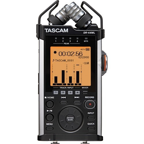 Tascam Grabadora Portatil De Audio Con Wi-fi Dr-44wl